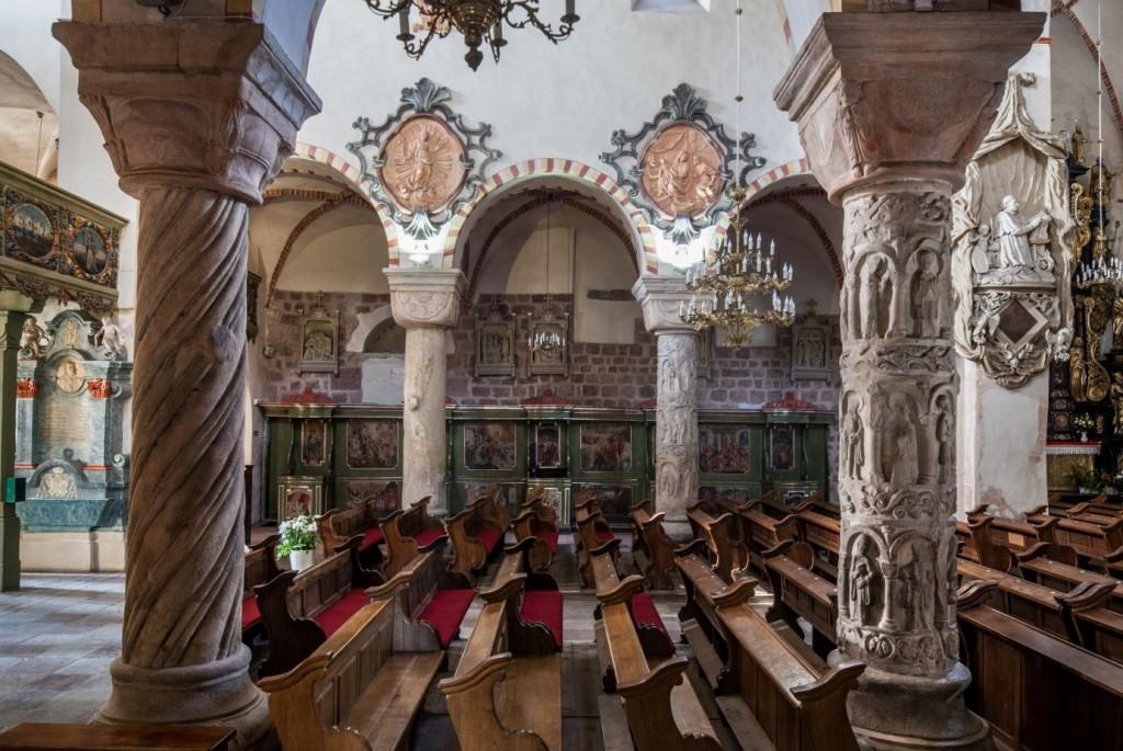 Strzelno kościół romański